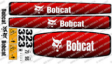 BOBCAT 323 MINI DIGGER DECAL SET