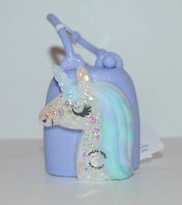 NEW BATH BODY WORKS UNICORN LIGHT UP POCKETBAC HOLDER SLEEVE SANITIZER GEL CASE