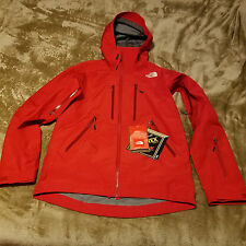 NORTH FACE POWDER GUIDE SMALL RED JACKET GORE TEX PRO RECCO Ski Snowboard Rain