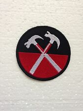 IRON -ON Embroidered Patch PINK FLOYD - MUSIC