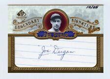 JOE DUGAN 2006 SP LEGENDARY CUTS JSA COA 10/25 CUT AUTO AUTOGRAPH 1927 YANKEES