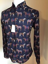 NWT $815 Gucci Men's  Dress Shirt Multi-Color 42/16.5 Italy 2015-2016