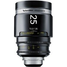 New Schneider Optics Kreuznach 25mm T2.2 Cine xenar III for Canon NIKON PL Mount