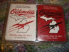 Oldsmobile R.E. Olds Chapter 2011 Homecoming Car Show & Swap Meet Playing Cards