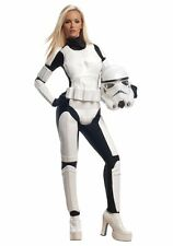 Female Stormtrooper Costume Adult Sexy Star Wars Storm Trooper - Medium 10-14