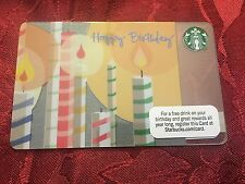 STARBUCKS Gift Card Happy Birthday 2011 - FREE SHIPPING