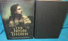 The Iron Thorn ~ Caitlin Kittredge. Iron Codex Book 1. 1st HbDj  WOW!!   in MELB