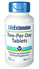 THREE BOTTLE $15.88 Life Extension Two-Per-Day 120 Tablets Multi Vitamin Mineral
