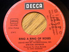 """UNION EXPRESS - RING A RING OF ROSES  7"""" VINYL"""