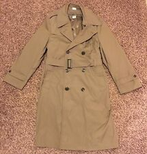 US Army Men's All Weather Trench Coat With Liner Sz 40R 8405-01-107-0245