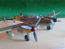 MESSERSCHMITT ME110 1/48 SCALE BUILT / MADE AIRBRUSHED SPARE OR REPAIR