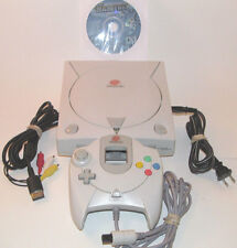 Sega Dreamcast Console Bundle System HKT-3020 w/ 12 Games *NEW CLOCK BATTERY*