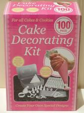 Brand New Cake Decorating Kit, 100 Pieces with Storage Box- Great Gift