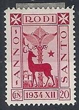 1935 EGEO ANNO SANTO 20 CENT MH * - RR12178