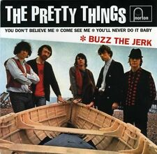 "PRETTY THINGS - Buzz The Jerk - Rare 1999 US limited edition 4-track 7"" vinyl EP"