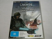 "WARHAMMER, DAWN OF WAR,  WINTER ASSAULT,, PC GAME, DVD ROM, ""preowned"""