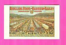1961 Milton Bradley Ringling Bros and Barnum & Bailey Combined Shows Train Card