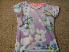 GIRL'S CLOTHES BUNDLE AGE 5-6-7 T-SHIRTS - RIVER ISLAND  BUTTERFLY GUESS AERO