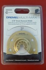 """Dremel Tool MM500 1/8"""" Grout Removal Blade for Multi-Max"""