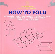 HOW TO FOLD Methods of Folding & Packaging with CD-ROM @NEW BOOK@ Multilingual