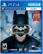 Batman Arkham VR Standard Edition for PlayStation 4 PS4 2016 Releases 10/13/16