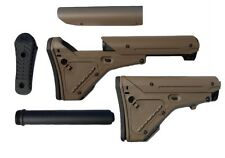 CALCIO SOFTAIR SERIE M4 UBR TAN AIRSOFT TACTICAL STOCK BIG DRAGON 0178