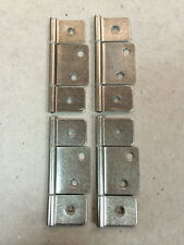 Mobile Home Parts 4 New Interior Door Hinges Stainless Steel- Nickel.