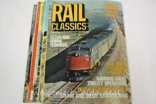 Rail Classics Magazine (7 Issues) 1976