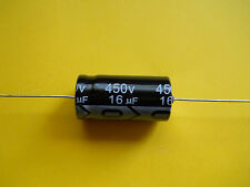 1 x 16uF @ 450V - 105°C RICHEY AXIAL TUBE AMP CAPACITOR
