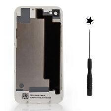 Backcover Glas Rückseite Akkudeckel Ersatz Werkzeug für Original iPhone 4S Weiß