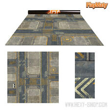 Infinity 1 / Rice Field – Double-Sided 36″ x 36″ Mat for Battle Games