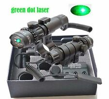 US Green Dot Laser Sight Scope + Remote Tail Switch Mounts For Hunging
