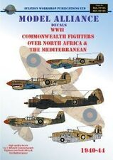 Model Alliance decals 1/48 WWII Commonwealth Fighters over North Africa # 48195