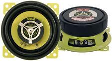 Pair New Pyle PLG4.2 4'' 140 Watt Two-Way Speakers Car Audio