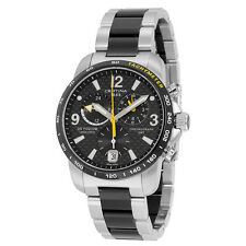 Certina DS Podium GMT Black Dial Two-tone Mens Quartz Watch C0016392220701