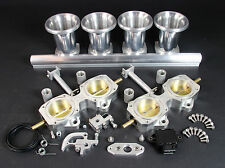 4 Cylinder DCOE 45mm Throttle Body Kit inc TPS Ram Tubes & Fuel Rail