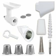 NEW KITCHENAID FPPA ATTACHMENT PACK FOR STAND MIXERS FOOD GRINDER STRAINER MORE