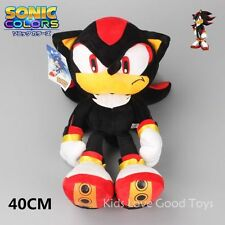 """New 16"""" Shadow the Hedgehog Sonic Plush Toy Soft Doll 40CM Xmas Collectible Gift"""