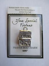 b You are the friend everyone wishes YOUR SPECIAL FORTUNE Prayer Box Charm Ganz