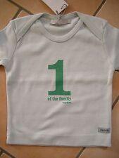 """(7) Imps & Elfs unisex Baby Shirt Logo Aufnäher & Druck """"1 of the family"""" gr.62"""