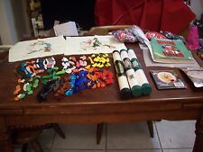 Craft Collection: 3-Kits, 2-Cross Stitch Complete,3- Aida Cloth,39 Skeins Floss