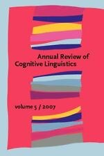 2007-12-14, Annual Review of Cognitive Linguistics: Volume 5, , Very Good, -- ,
