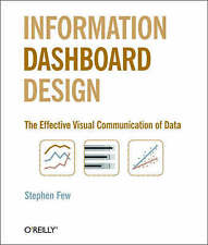 Information Dashboard Design by Stephen Few (Paperback, 2006)