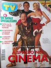 TV Sorrisi e Canzoni n°51 1996 Massimo Boldi Cristian De Sica Ela Weber [D45]