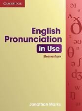 English Pronunciation in Use Elementary by Jonathan Marks (2007, Paperback)