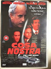 Richard Dreyfuss Timothy Hutton COSA NOSTRA 1998 Mafia Crimine Drammatico UK DVD