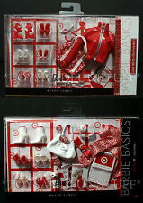 NEW - 2 Barbie Basics COLLECTION RED Look 01 & 02 - Doll Accessories Target Excl