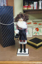 "2014 Threshold Female Nutcracker with Target gift box – 13"" tall"