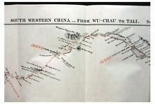 1887 Colquhoun - SOUTHERN CHINA - Railway - 2 Large Maps
