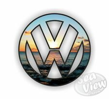 VW Volkswagen Logo Sunset Car Van Bug Sticker Decal